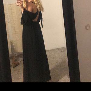 Somedays Lovin black maxi dress.
